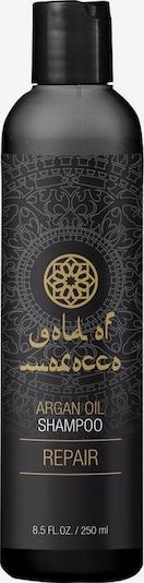 Gold of Morocco Shampoo in schwarz, Produktansicht