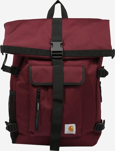 Carhartt WIP Rucksack 'Philis' in kirschrot / schwarz, Produktansicht