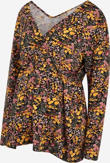 Mamalicious Curve Shirt 'BETSY' in navy / mischfarben, Produktansicht