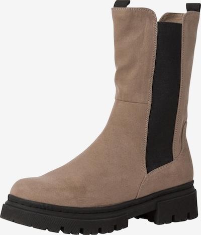 MARCO TOZZI Støvler i lysebrun / sort, Produktvisning