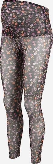 MAMALICIOUS Leggings 'CLEMENTINE' en mélange de couleurs / noir, Vue avec produit