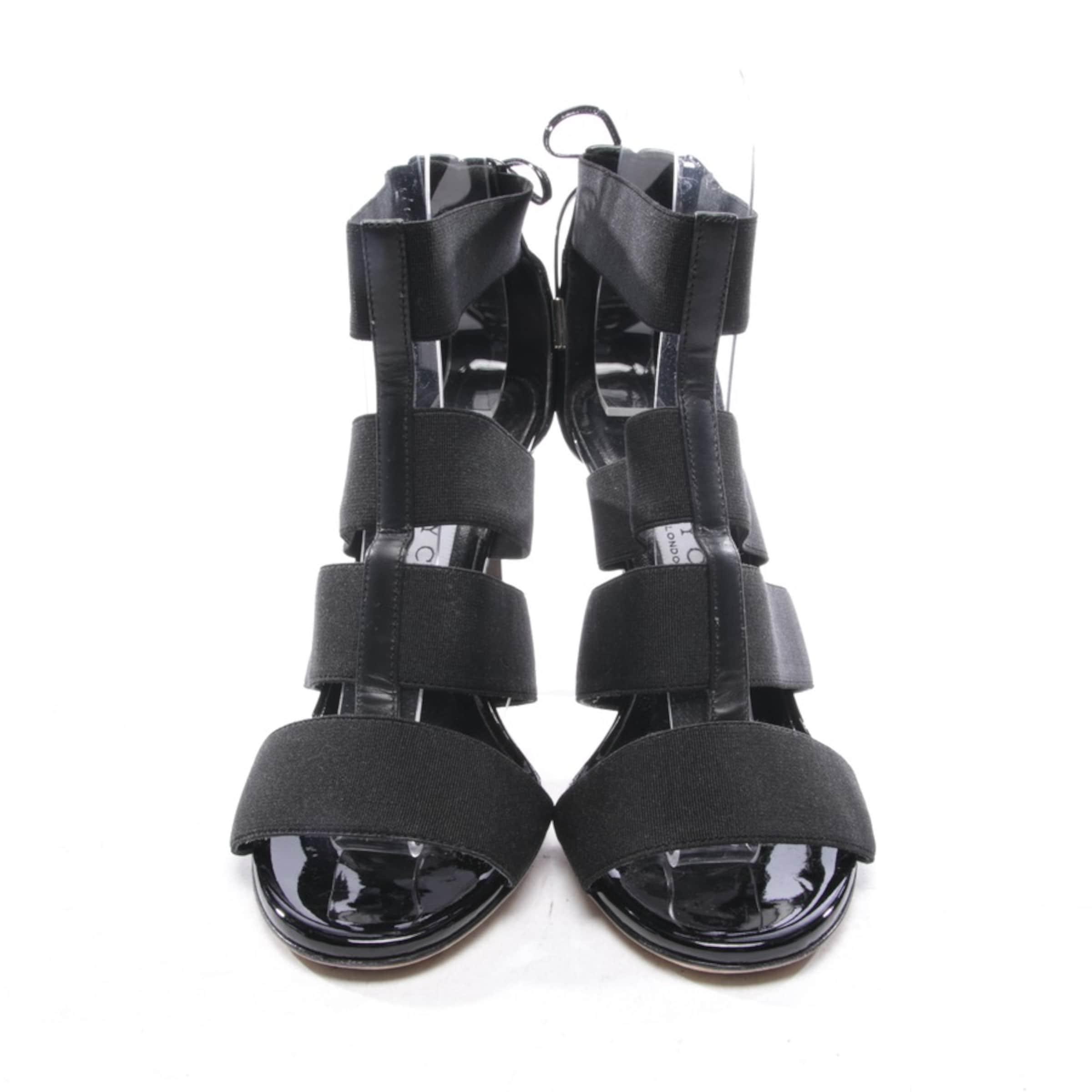JIMMY CHOO Sandaletten in schwarz