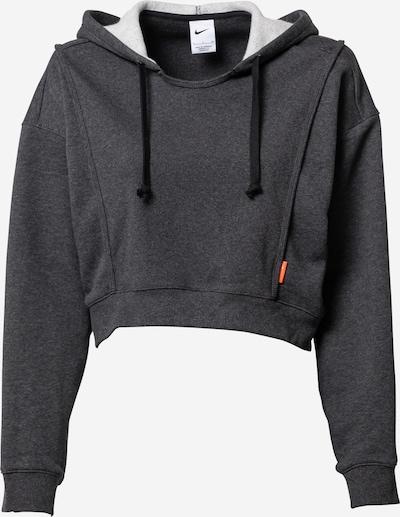NIKE Athletic Sweatshirt in mottled black, Item view