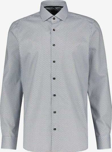 OLYMP Zakelijk overhemd in de kleur Bruin / Wit, Productweergave