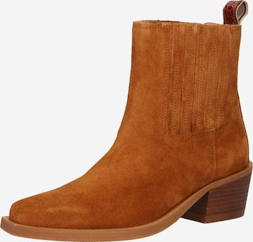 SCOTCH & SODA Chelsea Boots 'Ciara' in Brown