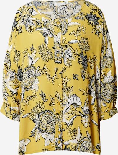 Masai Bluse 'Impi' in gelb / mischfarben, Produktansicht
