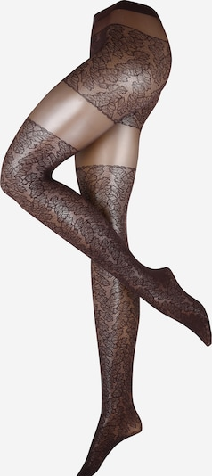 FALKE Fine tights 'Leaves Dream' in dark purple, Item view