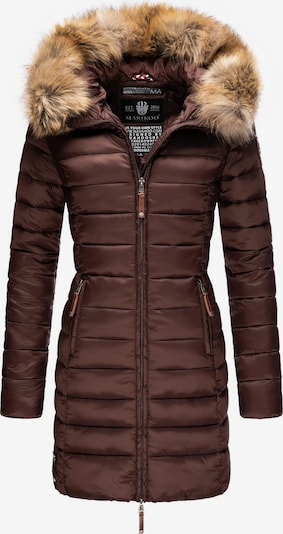 Cappotto invernale MARIKOO di colore beige / cioccolato, Visualizzazione prodotti