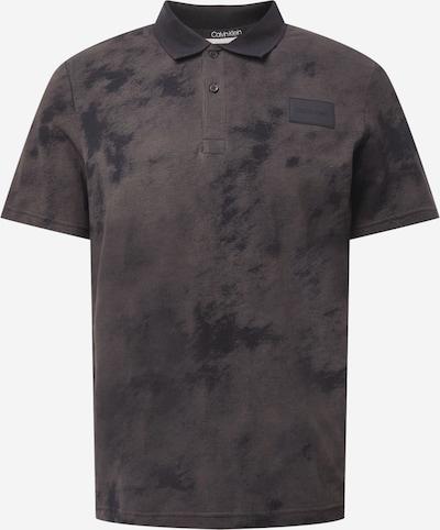 Calvin Klein Shirt in de kleur Aardetinten / Zwart, Productweergave