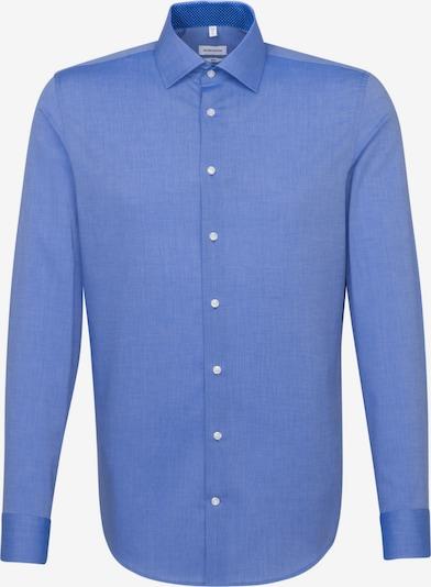 SEIDENSTICKER Zakelijk overhemd in de kleur Blauw: Vooraanzicht