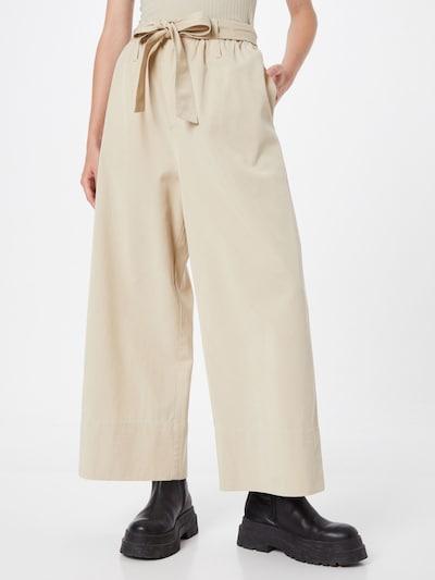 Pantaloni 'Milani' Samsoe Samsoe pe maro cappuccino, Vizualizare model