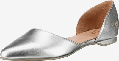 Apple of Eden Ballerinas 'Blondie' in silber, Produktansicht