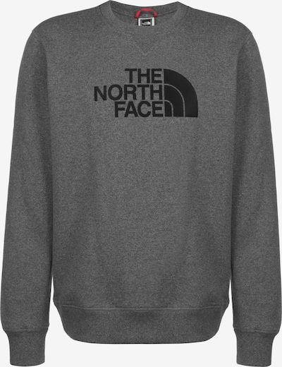 THE NORTH FACE Sweatshirt 'Drew Peak' in grau / schwarz, Produktansicht