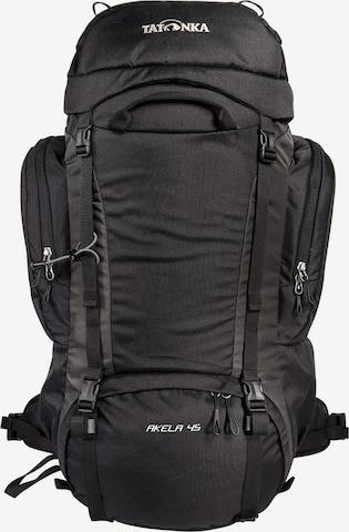 TATONKA Sports Backpack 'Akela' in Black