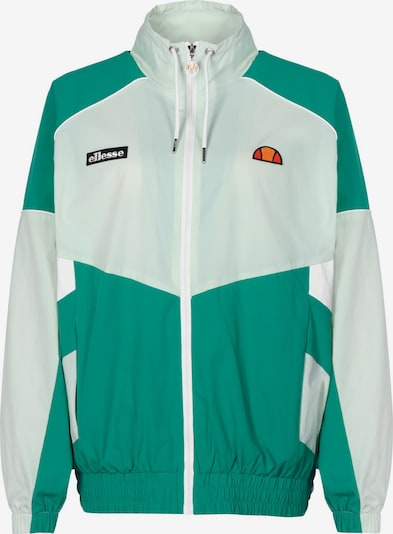 ELLESSE Athletic Jacket 'Mali' in Green / Orange / Red / Black / White, Item view