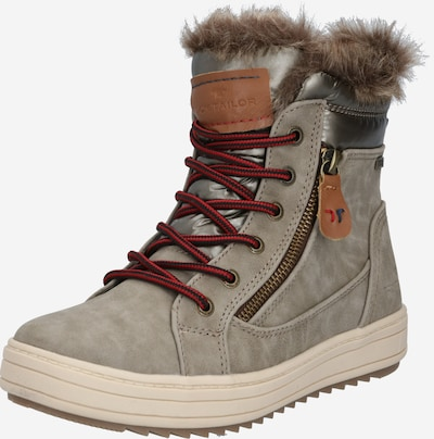 TOM TAILOR Snowboots in de kleur Stone grey, Productweergave