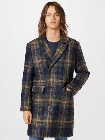 Manteau mi-saison 'Pete' Redefined Rebel en bleu