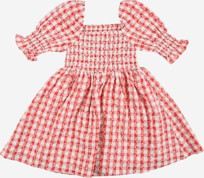 Bardot Junior Kleid in hellrot / weiß, Produktansicht