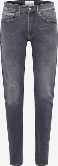 Jeans Calvin Klein Jeans pe denim negru: Privire frontală
