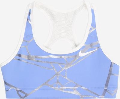 NIKE Sporttop 'Nike Swoosh' in hellblau, Produktansicht
