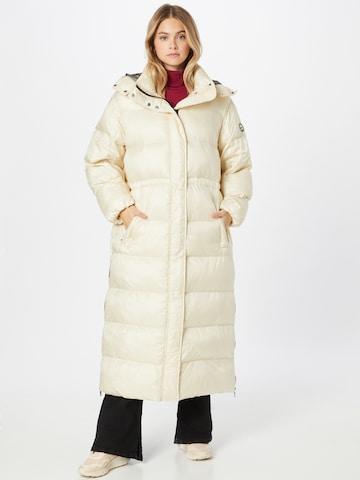 No. 1 Como Winter Coat 'MINA' in White