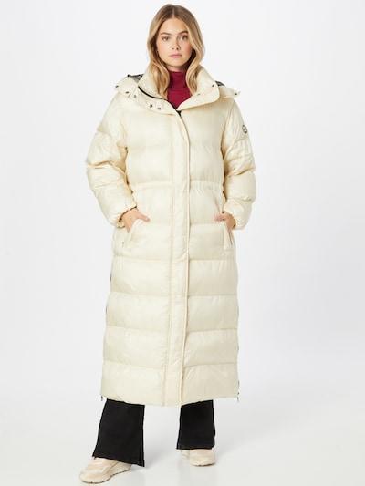 No. 1 Como Winter Coat 'MINA' in Pearl white, View model