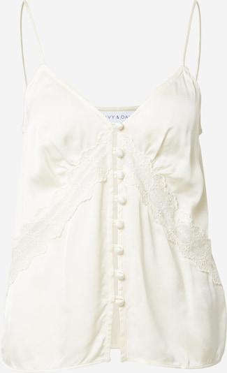 Palaidinė be rankovių iš IVY & OAK , spalva - perlų balta, Prekių apžvalga
