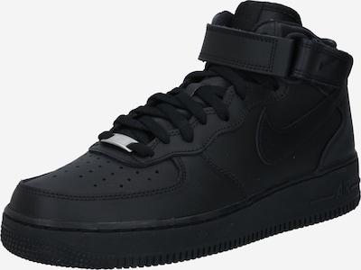 Nike Sportswear Korkeavartiset tennarit 'AIR FORCE 1  07' värissä musta, Tuotenäkymä