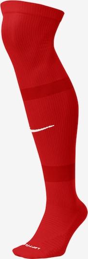 NIKE Stutzen in rot / weiß, Produktansicht