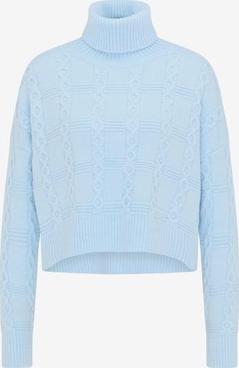 myMo NOW Rollkragenpullover in blau, Produktansicht