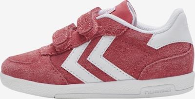 Hummel Sneaker in pastellrot / weiß, Produktansicht