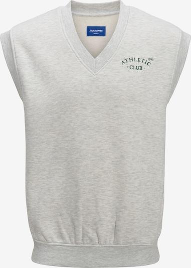 JACK & JONES Sweatshirt 'Tobias' in grau / weißmeliert, Produktansicht