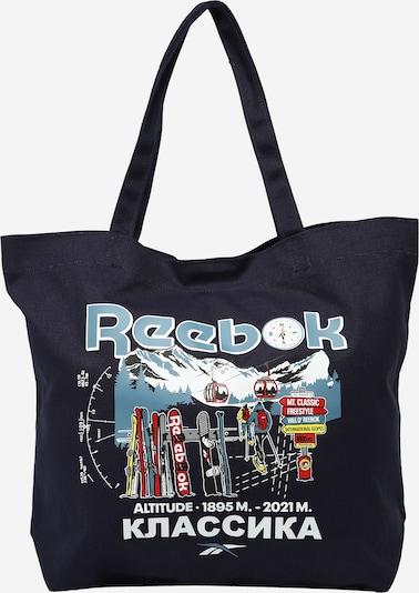 tengerészkék / füstkék / ezüstszürke / tűzpiros / fehér Reebok Classics Shopper táska, Termék nézet