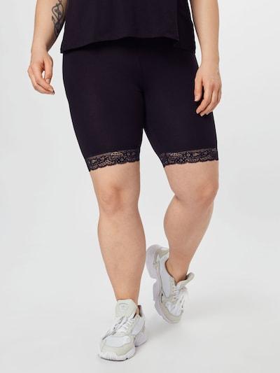 Vero Moda Curve Leggings 'Lennon' en noir, Vue avec modèle