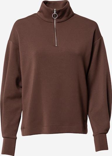 Bluză de molton 'Dalton' InWear pe ciocolatiu, Vizualizare produs