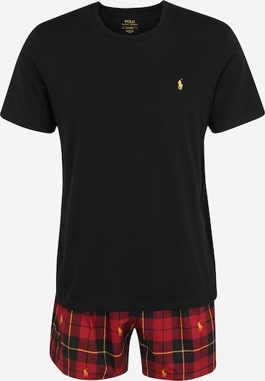 POLO RALPH LAUREN Pyžamo krátké - jasně oranžová / červená / černá, Produkt