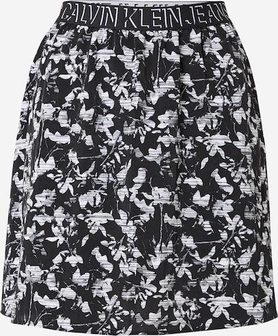 Calvin Klein Jeans Svārki, krāsa - melns / balts, Preces skats