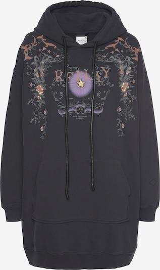 REPLAY Kleid in lila / schwarz, Produktansicht
