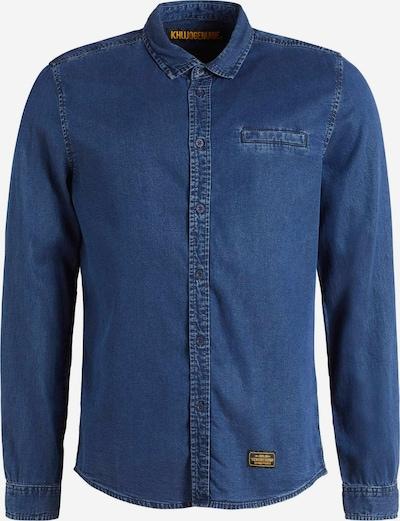 khujo Hemd ' POSTO ' in blau, Produktansicht
