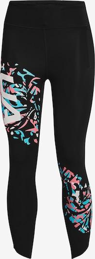 UNDER ARMOUR Športové nohavice 'Fly Fast' - modrá / ružová / čierna / biela, Produkt