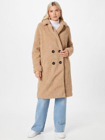 Noisy may Between-seasons coat 'NMGABI L/S LONG JACKET SP' in Beige