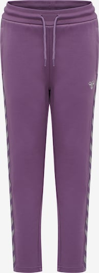 Hummel Sporthose in lila / weiß, Produktansicht