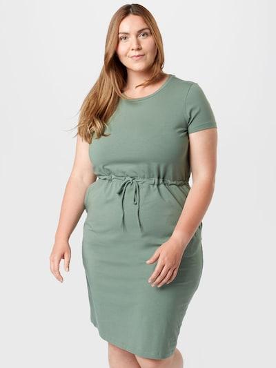 Vero Moda Curve Kleid in dunkelgrün, Modelansicht