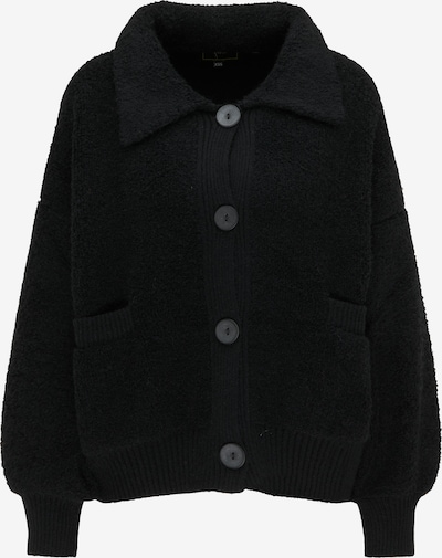 faina Strickjacke in schwarz, Produktansicht