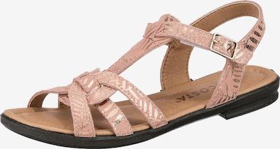 RICOSTA Sandale in gold / pink, Produktansicht
