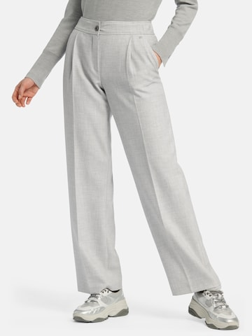 Basler Pleated Pants in Grey