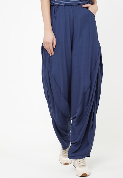 Madam-T Trousers 'POLLI' in blau, Modelansicht