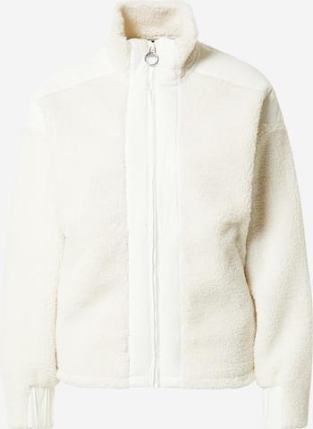 PEAK PERFORMANCE Athletic Fleece Jacket in White