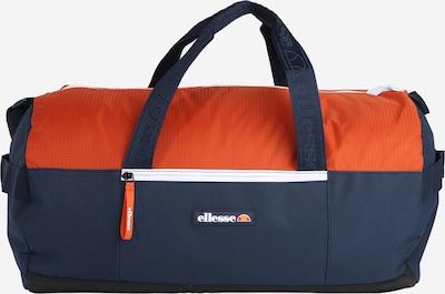 ELLESSE Matkakassi 'Walona' värissä laivastonsininen / oranssi, Tuotenäkymä