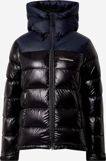 PEAK PERFORMANCE Veste outdoor 'Frost Glacier' en noir, Vue avec produit